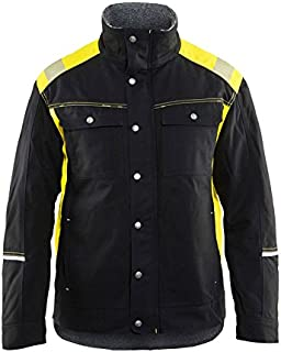 Blaklader Workwear Visibility Winter Jacket Black/Yellow