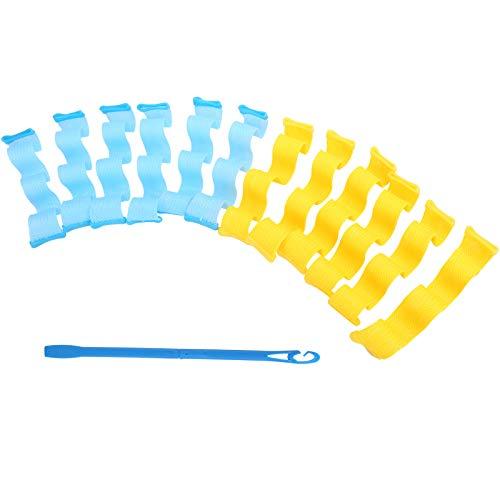 Rizador de pelo en espiral, rodillo de pelo ligero y fácil de usar para el hogar para niños para peluquería para mujeres