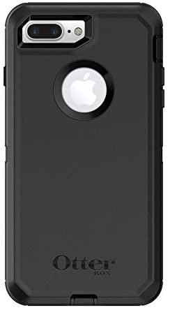 OtterBox Defender Series Case For iPhone 8 Plus & iPhone 7 Plus (Only) – Retail Packaging – Black