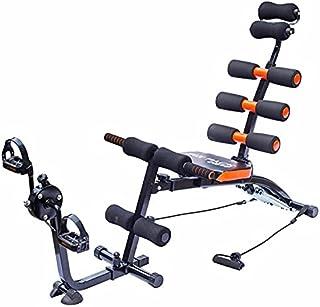 الة تمرين عضلات البطن سيكس باك كير - لون اسود وبرتقالي
