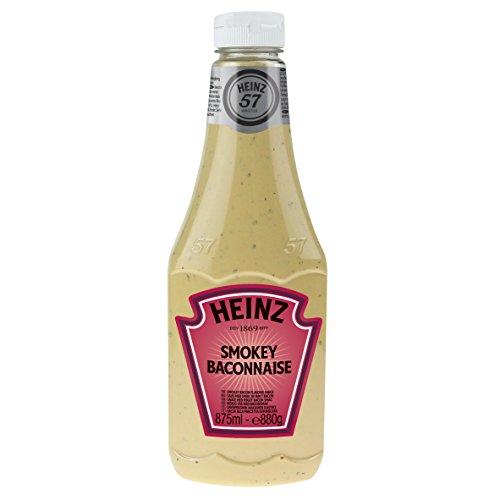 Heinz Kk Smokey Baconnaise - Pacco da 6 x 875 ml