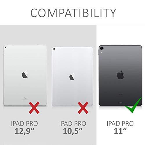 kwmobile 2X Folie kompatibel mit Apple iPad Pro 11