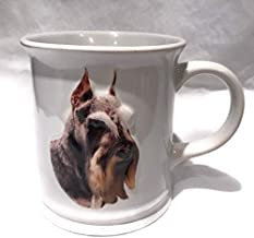 Best Friend Original Schnauzer 3D White Ceramic Mug