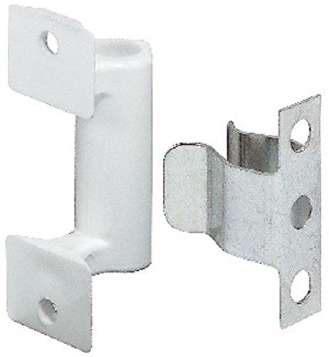 PiHaMi® Federschnäpper zum anschrauben Universal Möbelschnapper für, Sockel, Blenden, Möbel im Küchen & Wohnbereich (2 Set)