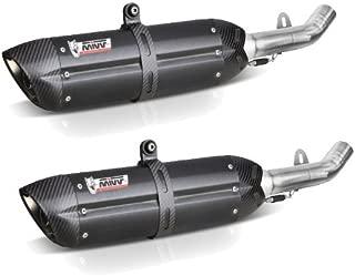 MIVV D.025.L9 - Exhaust For Ducati Monster 796 Suono Steel Black