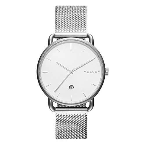 Meller - Denka Dag Silver S - Relojes para Hombre y Mujer