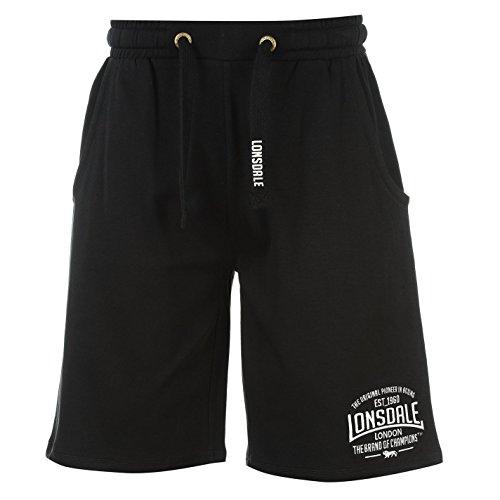 Lonsdale leichte Herren-Box-Shorts Gr. XXL, schwarz / weiß