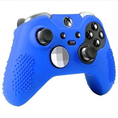 OSTENT Capa protetora macia de borracha de silicone para controle de Xbox One Elite, cor azul