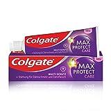 Colgate Zahnpasta Max Protect Care und Multi-Schutz, 75 ml - Zahncreme mit Zahnschmelz- und Zahnfleischschutz