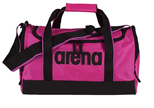 Arena Spiky 2 Medium, Borsa Nuoto Sportiva da 32 Litri Unisex Adulto, Rosa (Fuchsia), Taglia Unica