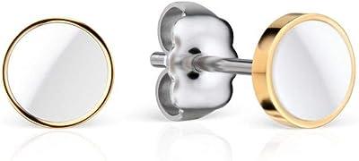 BERING Pendientes de botón Mujer acero inoxidable - 705-25-05