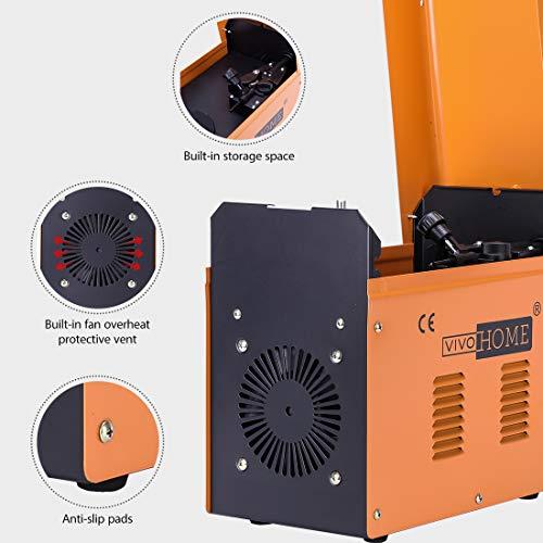 VIVOHOME Portable Flux Core Wire No Gas MIG 130 Welder