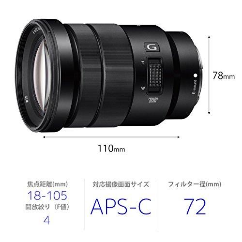 ソニーEPZ18-105mmF4GOSS※Eマウント用レンズ(APS-Cサイズ用)SELP18105G