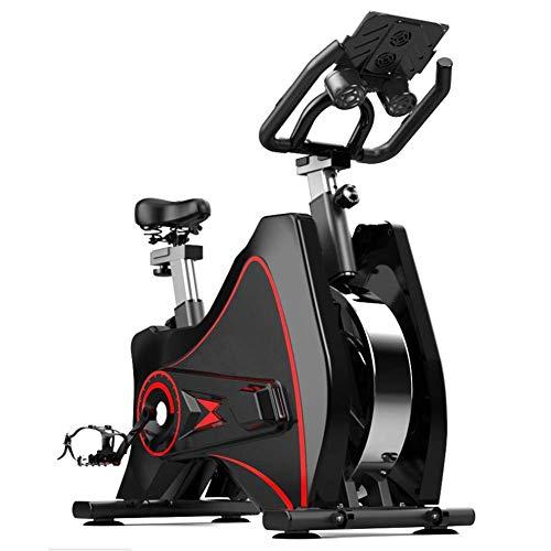 Wghz Bicicleta de Spinning Todo Incluido para el hogar Volante de inercia de 6 Kg Bicicleta de Ejercicio Ultra silenciosa para Interiores Fitness para Adelgazar Equipo Deportivo Bicicleta de Inte