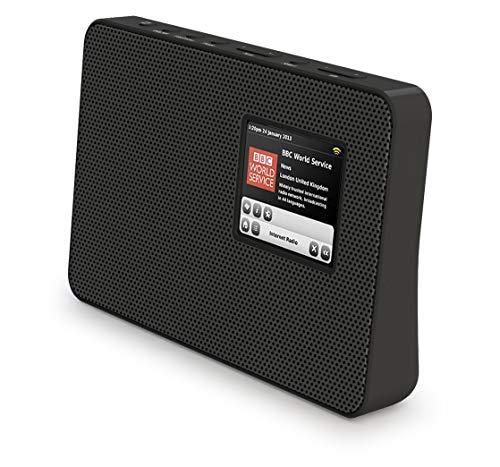 Smith-Style Metal DAB+ FM DAB Digital Radio Portable Radio with AUX Input,...