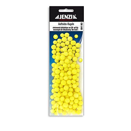 Jenzi Styropor Auftriebs-Kugeln gelb