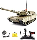 Giow 42cm 1:14 Main Battle Tanque RC Tiger Battle Tanque Militar japonés Tanque blindado Tanques de Batalla Carro de simulación Vehículo Tanque Grande controlado por Radio con Sonido, torreta Gir