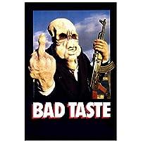 バッドテイスト(1987)クラシック映画のポスターとプリントキャンバス絵画壁アート家の装飾キャンバスにプリント-50x70cmフレームなし