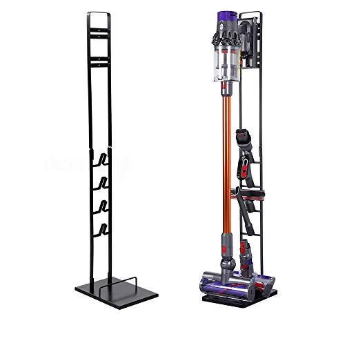 Bison Ständer für Dyson Akkusauger - Organizer für Dyson V6,V7,V8,V10,V11,DC30,DC31,DC34,DC35 Standfuß Halterung Rahmen (Schwarz)
