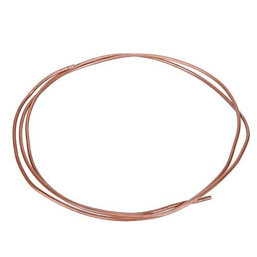 【𝐎𝐟𝐞𝐫𝐭𝐚𝐬 𝐝𝐞 𝐁𝐥𝐚𝐜𝐤 𝐅𝐫𝐢𝐝𝐚𝒚】Tubo de cobre resistente a la oxidación de alta temperatura, tubo de cobre de buena conductividad eléctrica, para frigorífico congelador