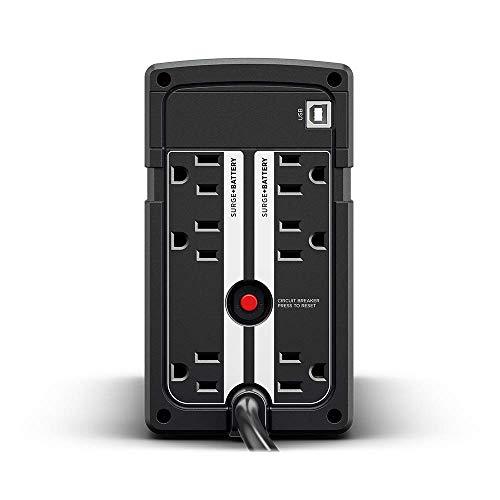 『CyberPower 無停電電源装置 (ラインインタラクティブ給電/正弦波出力) 500VA/300W CPJ500』の3枚目の画像