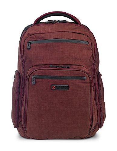 "ECBC Hercules Laptop Backpack | 17"" Laptop Sleeve, Berry (K7102-80)"