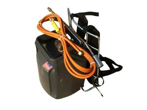 2EBALM 3760113030055 Portaflam, Noir/Orange, 50x38x13 cm