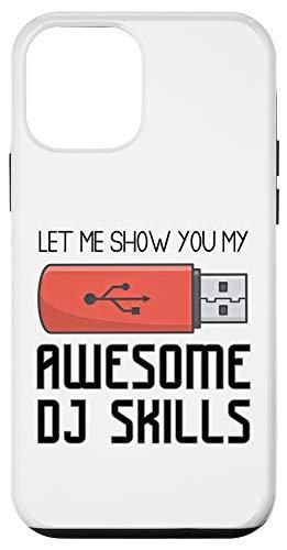 iPhone 12 mini Best DJ Saying Awesome Disc Jockey USB Stick funny Case