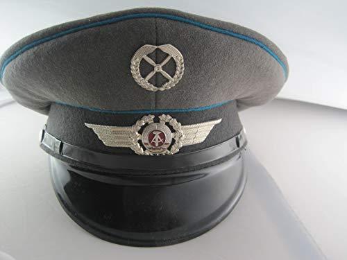 NVA original Schirmmütze Flieger Luftwaffe Pilot DDR FDJ-Artikel gr. 55