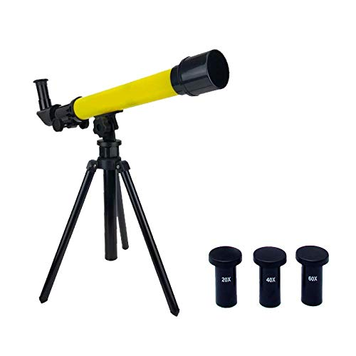 HZWLF Binoculars Spotting Scopes,Telescopes Toy Outdoor Child Beginner Toy Amateur Fold Adjustable Tripod Watch Monocular / 52.5Times;27Times;59Cm