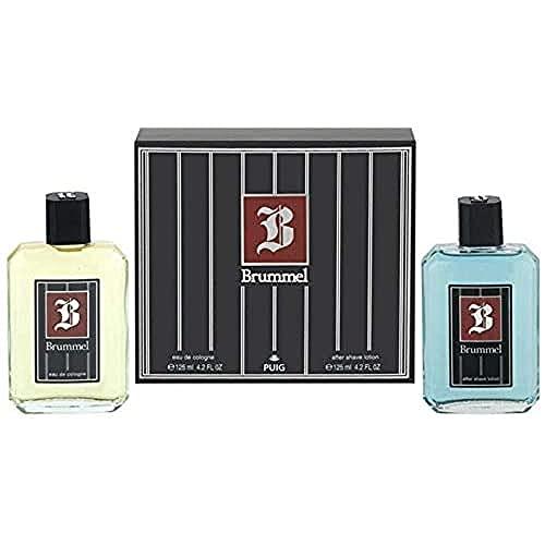 Puig Brummel Gift Set For Men, 125 ml/125 ml, 2-P