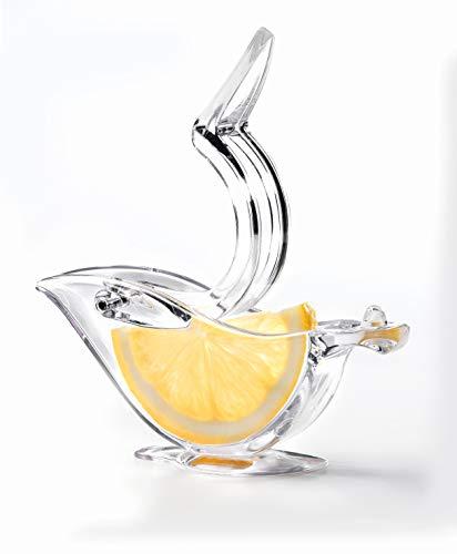 Presse-citron Epicurio dans une boîte cadeau de présentation (2 par boîte) pour presser le jus de citron sans mettre de jus sur vos mains, gicler dans les yeux ou sur vos vêtements, ou pépins sur votre nourriture