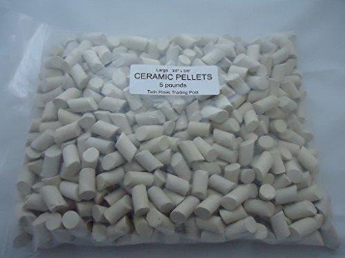 Ceramic Tumbling Media - Large 3/8