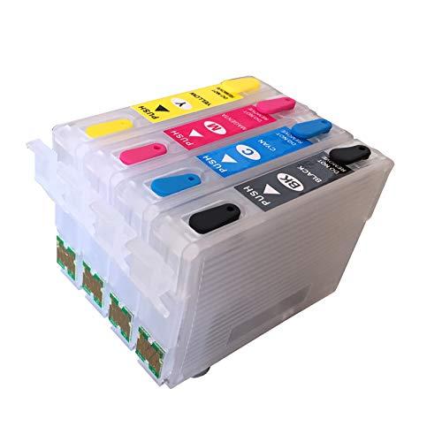 T1811 -T1814 18 cartucho de tinta recargable para Epson XP-212 XP-215 XP-312 XP-315 XP-412 415 XP-225 XP-322 XP-325 XP-422 XP-425