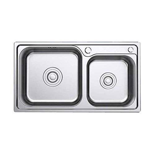 Strawberry Fregadero, Acero Inoxidable Fregadero de la Cocina Solo Vaso de Las lavanderías comerciales Utilidad Fregadero Manual Embedded Fregadero de Cocina