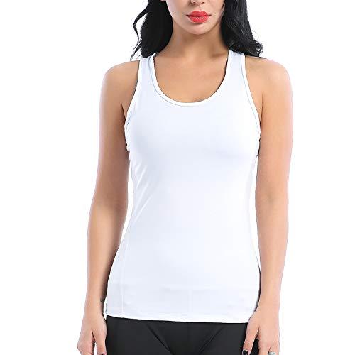 AMZSPORT TRENDY Serie Yoga Tanktop voor Dames Mouwloze Racerback Vest