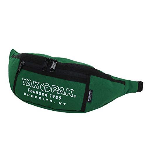 [ヤックパック] YAKPAK ウエストバッグ ウエストポーチ ボディバッグ ワンショルダー メンズ レディース HORIZONTAL BAG ホリゾンタルバッグ 8925301 (グリーン)