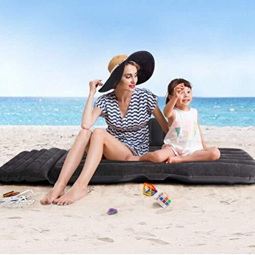 Materassino gonfiabile per materasso ad aria per il materasso gonfiabile per bambini (nero)