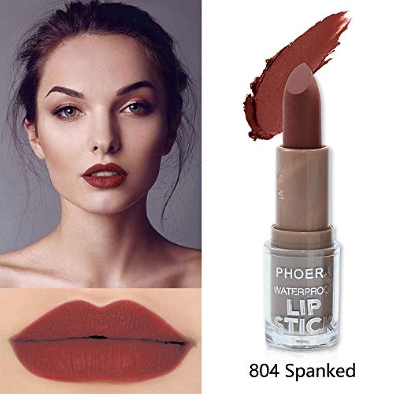 承認ドナーダイエットBeauty Matte Moisturizing Lipstick Makeup Lipsticks Lip Stick Waterproof Lipgloss Mate Lipsticks Cosmetic