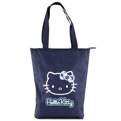 Hello Kitty Sac Bandoulière Shopping 41 cm (Bleu)