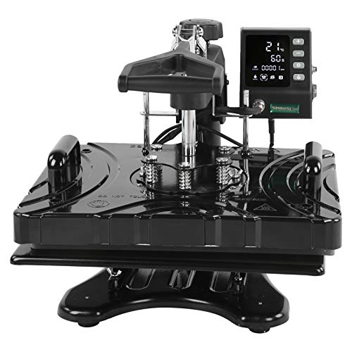 SEDOOM Máquina De Transferencia De Calor 5 En 1 Plancha Multifuncional Multifuncional, P8100 850W-1000W, Enchufe De EE. UU. 110V