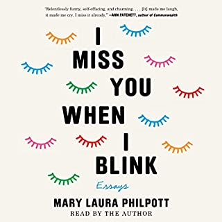 I Miss You When I Blink audiobook cover art
