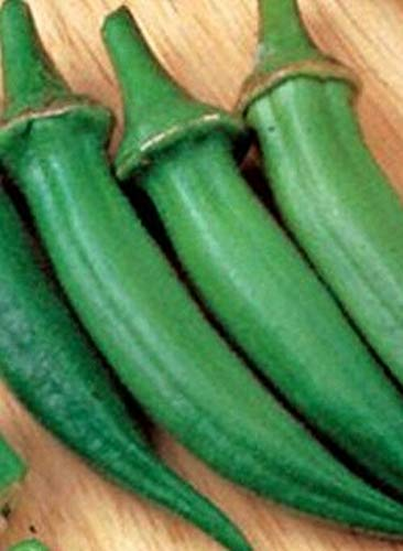 Samen-Paket Nicht Pflanzen: - Samen: Cajun Delight Hybrid Okra.SO Good! Hohe yeilds! Wer ist das? Dats !!!!
