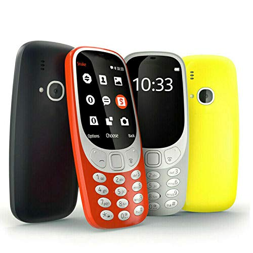 "Madprice - Teléfono móvil Dual SIM GSM 2.4"" Cámara LED 2 MP SD Card 3310"