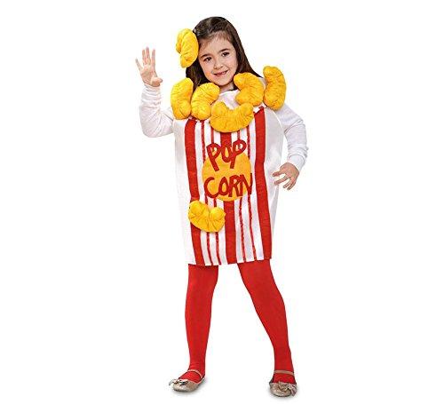 Disfraz de Pop Corn o Palomitas para nia