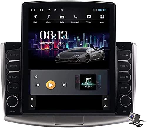 Estéreo para automóvil para VW Passat B6 B7 CC Magotan 2007-2016 Radio Pantalla Vertical de 9.7 Pulgadas 2 DIN Android 9.1GPS Soporte de navegación Bluetooth/SWC/Mirror Link