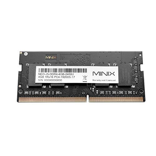4GB DDR4 Speicher 2400MHz SO-DIMM 204-pin DIMM RAM Upgrade für MINIX NEO J50C-4 Serial Windows Mini PC, verkauft von MINIX Technology Limited.