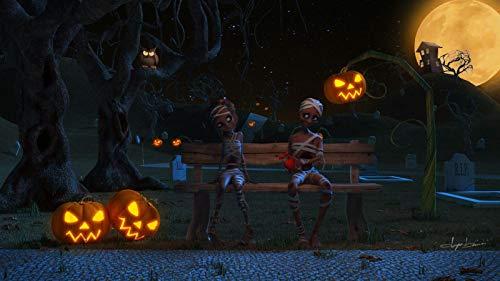 NoNo Puzzle 1000 Teile Puzzel Für Erwachsene DIY Erwachsenen Puzzle Halloween Kostüme Für Kinder Moderne Wohnkultur Wandkunst Intelligenz Spiel Einzigartiges Geschenk 75x50cm