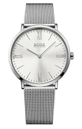 Hugo Boss Herren Quarz Uhr mit Armband 1513459