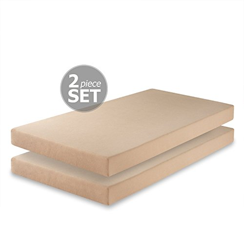 Zinus 5 Inch Memory Foam Twin Mattress (Set of 2)